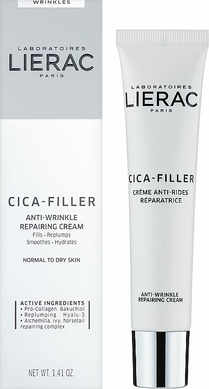 Anti-Falten Gesichtscreme - Lierac Cica-Filler Anti-Wrinkle Repairing Cream — Bild N2