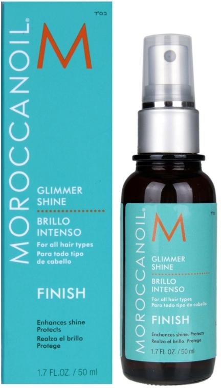Haaröl-Spray für mehr Glanz mit Arganöl - MoroccanOil Glimmer Shine — Bild N4
