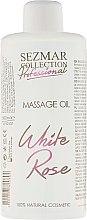 Düfte, Parfümerie und Kosmetik Massageöl Weiße Rose - Hristina Cosmetics Sezmar Professional Massage Oil White Rose