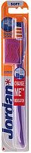 Düfte, Parfümerie und Kosmetik Zahnbürste weich Advanced violett - Jordan Advanced Soft Toothbrush