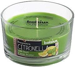 Düfte, Parfümerie und Kosmetik Garten Duftglas Citronella-Basilikum - Bolsius Candle 62 mm x Ø106 mm