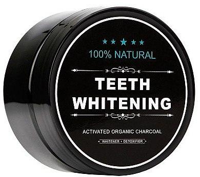 100% Natürliches aufhellendes Zahnpulver mit Aktivkohle - Biomika Natural Teeth Powder — Bild N2