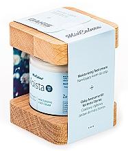 Fußpflegeset - MiaCalnea Moisturizing Foot Cream + 2X OAKIS (Feuchtigkeitsspendende Fußcreme 120ml + Accessoires 2St.) — Bild N3