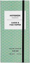 Notebook Cassis & Pink Pepper - Eau de Toilette — Bild N2