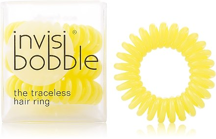 "Haargummis ""Submarine Yellow"" 3 St. - Invisibobble Submarine Yellow — Bild N1"