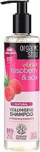 Düfte, Parfümerie und Kosmetik Volumen Shampoo mit Bio Himbeere und Acai - Organic Shop Raspberry & Acai Volumising Shampoo