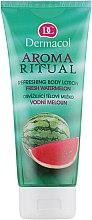 Düfte, Parfümerie und Kosmetik Erfrischende Körperlotion mit Wassermelonenduft - Dermacol Body Aroma Ritual Refreshing Body Lotion