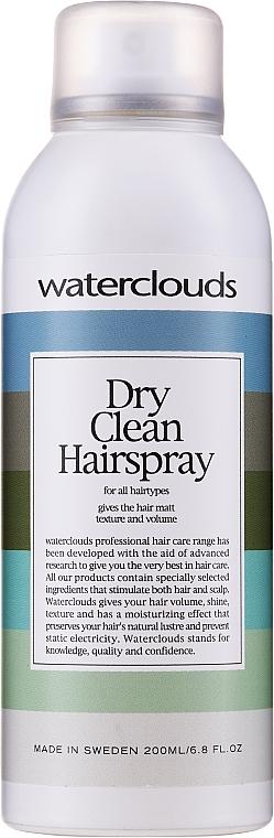 Trockenshampoo für alle Haartypen - Waterclouds Volume Dry Clean Hairspray — Bild N1