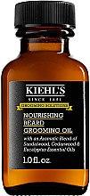 Düfte, Parfümerie und Kosmetik Nährendes Bartöl mit Sandelholz-, Zedernholz- und Eukalyptusöl - Kiehl's Nourishing Beard Grooming Oil