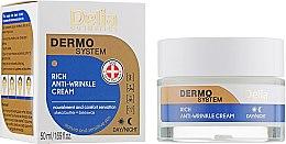 Düfte, Parfümerie und Kosmetik Reichhaltige Anti-Falten Gesichtscreme mit Sheabutter - Delia Dermo System Rich Anti-Wrinkle Cream