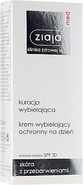 Bleichende Tagescreme - Ziaja Med Protective Whitening Day Crem — Bild N1
