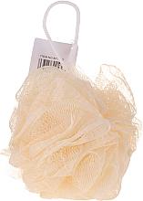 Düfte, Parfümerie und Kosmetik Badeschwamm gelb - IDC Institute Design Mesh Pouf Bath Sponges