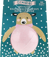 Düfte, Parfümerie und Kosmetik Badebombe Clementine - Mad Beauty I Love Christmas Bath Fizzer Reindeer