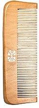 Düfte, Parfümerie und Kosmetik Holziger Haarkamm - Ronney Professional Wooden Comb 120