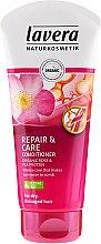 Düfte, Parfümerie und Kosmetik Haarspülung für trockenes und stapaziertes Haar - Lavera Rose&Pea Repair&Care Conditioner