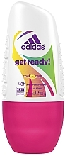 Düfte, Parfümerie und Kosmetik Deo Roll-on Antitranspirant - Adidas Anti-Perspirant Get Ready Cool&Care 48h