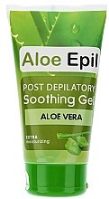 "Düfte, Parfümerie und Kosmetik After Depilation Beruhigendes Gel ""Aloe"" - Aloe Epil"