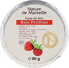 Düfte, Parfümerie und Kosmetik Badebombe mit Walderdbeerduft - Nature de Marseille Strawberries