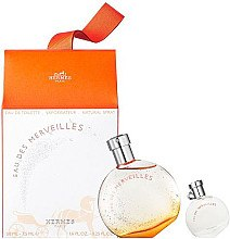 Düfte, Parfümerie und Kosmetik Hermes Eau Des Merveilles - Duftset (Eau de Toilette/50ml + Eau de Toilette/7.5ml)