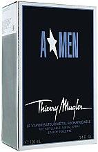Düfte, Parfümerie und Kosmetik Mugler A Men The Refillable Metal Spray - Eau de Toilette