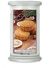 Düfte, Parfümerie und Kosmetik Duftkerze Cardamom Gingerbread - Kringle Candle Cardamom Gingerbread