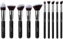 Düfte, Parfümerie und Kosmetik Make-up Pinselset T058 10 St. - Jessup