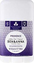 Düfte, Parfümerie und Kosmetik Natürlicher Soda Deostick Provence - Ben & Anna Natural Soda Deodorant Provence