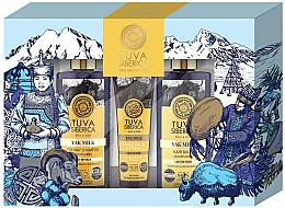 Düfte, Parfümerie und Kosmetik Haarpflegeset - Natura Siberica Tuva Yak Milk (Handbalsam 75ml + Shampoo 300ml + Haarspülung 300ml)