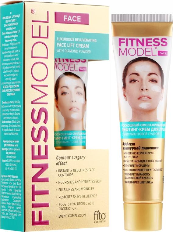 Verjüngende Liftingcreme für das Gesicht mit Diamantpulver - Fito Kosmetik Fitness Model — Bild N1