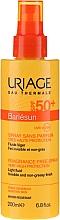 Düfte, Parfümerie und Kosmetik Sonnenschutzspray SPF 50+ parfümfrei - Uriage Bariesun Spray Sans Parfum SPF50+