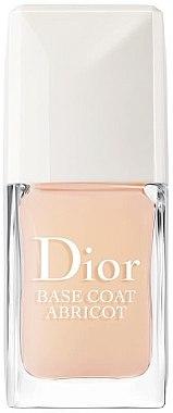Schützender und kräftigender Nagelunterlack - Dior Base Coat Abricot — Bild N1