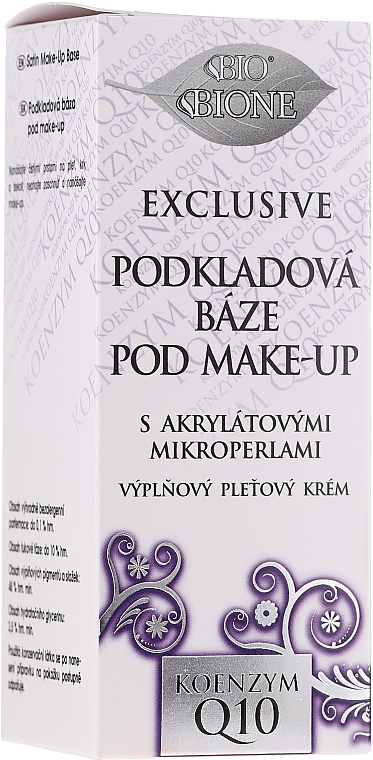 Make-up Base - Bione Cosmetics Exclusive Make-Up Base