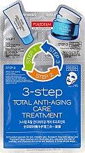 Düfte, Parfümerie und Kosmetik Anti-Aging 3-Schritt-Gesichtspflege - Purederm 3-Step Total Anti-Aging Care Treatment