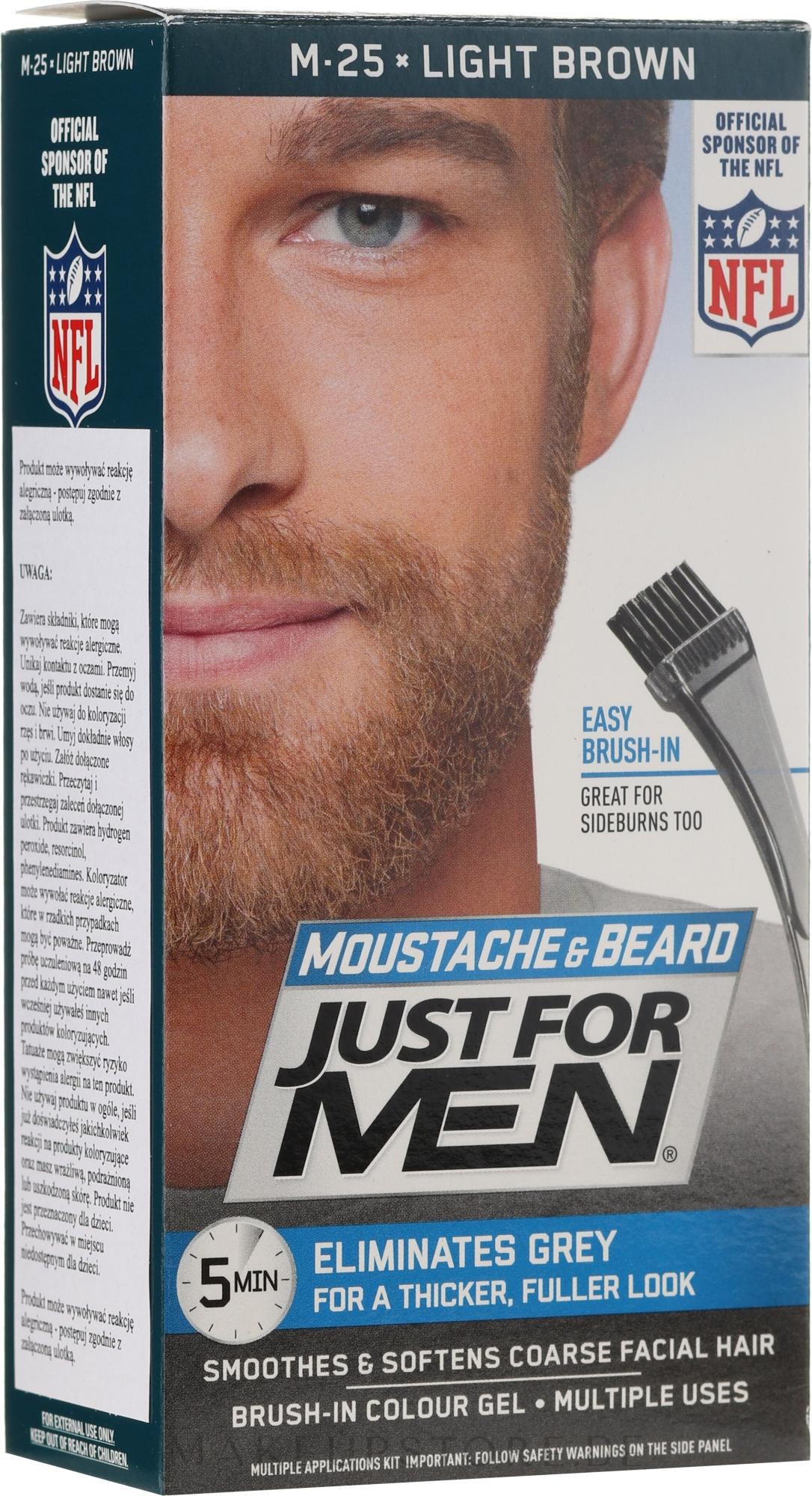 Just For Men Moustache & Beardd - Pinsel-Farbgel für