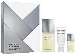 Düfte, Parfümerie und Kosmetik Issey Miyake L'Eau D'Issey Pour Homme - Duftset (Eau de Toilette 125ml + Duschgel 75ml + Eau de Toilette 15ml)