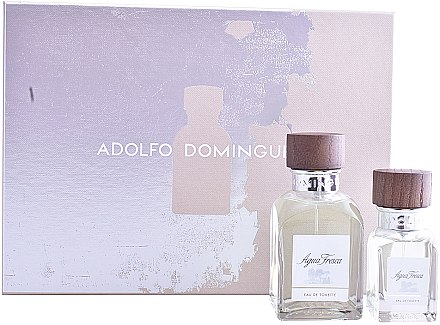 Adolfo Dominguez Agua Fresca - Duftset (Eau de Toilette 120ml + Eau de Toilette 30ml) — Bild N1