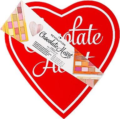 Make-up Set - I Heart Revolution Chocolate Heart 2019 — Bild N2