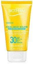 Düfte, Parfümerie und Kosmetik Feuchtigkeitsspendendes Sonnenschutzgel SPF 30 - Biotherm Sun Protection Aqua-Gelee Solaire SPF 30