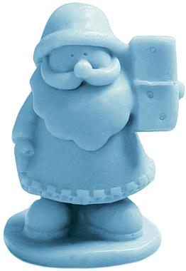 Handgemachte Glycerinseife Nikolaus mit Fruchtduft - LaQ Happy Soaps Natural Soap — Bild N1