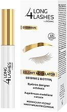 Düfte, Parfümerie und Kosmetik Modellierendes Augenbrauengel mit Biotin - Long4Lashes Eyebrow Designer With Biotin 12h Effect