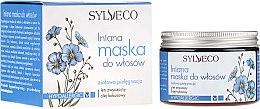 Düfte, Parfümerie und Kosmetik Hypoallergene Haarmaske mit Kokosöl und Leinsamen - Sylveco Flaxseed Hair Mask