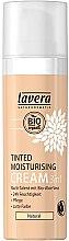 Düfte, Parfümerie und Kosmetik 3in1 Getönte, pflegende und feuchtigkeitsspendende Gesichtscreme mit Bio Aloe Vera - Lavera Tinted Moisturizing Cream 3-in-1