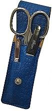 Düfte, Parfümerie und Kosmetik Maniküre-Set PL891 blau 3-tlg. - DuKaS