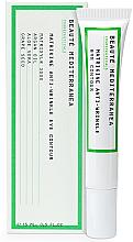 Düfte, Parfümerie und Kosmetik Anti-Falten Augenkonturcreme mit Arganöl, Aloe Vera und Traubenkernöl - Beaute Mediterranea Matrikine Anti-Wrinkle Eye Contour
