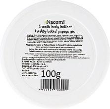 Körperbutter mit Papayakuchen-Aroma - Nacomi Smooth Body Butter Freshly Baked Papaya Pie — Bild N2