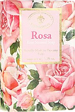 Düfte, Parfümerie und Kosmetik Naturseife mit Rosenblütenduft - Saponificio Artigianale Fiorentino Masaccio Rose Soap