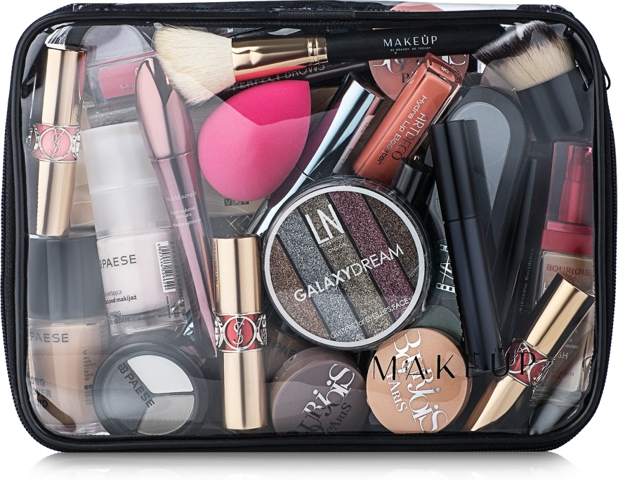 Kosmetiktasche Visible Bag (ohne Inhalt) - MakeUp B:25 x H:18 x T:8 cm