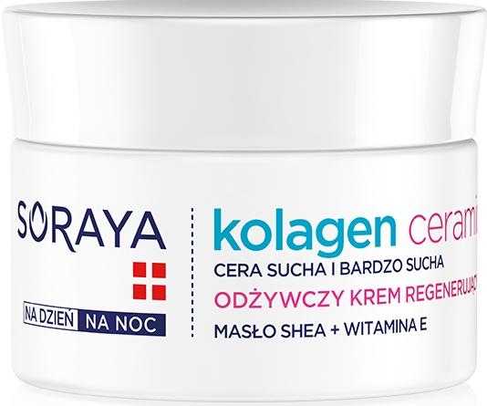 Pflegende Nachtcreme - Soraya Kolagen i Ceramid Nourishing Cream