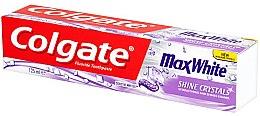 Zahncreme Max White Shine Crystals - Colgate Max White Shine Crystals Toothpaste — Bild N1