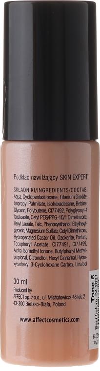 Feuchtigkeitsspendende Foundation - Affect Cosmetics Skin Expert Moisturizing Foundation — Bild N2